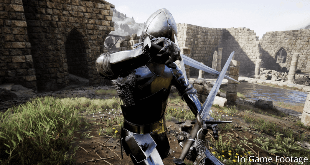 Divided Land - Real-Time Melee-Combat